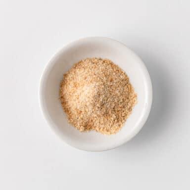 asafoetida in small white bowl