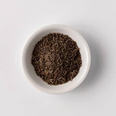 black cumin in small white bowl