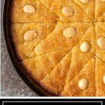 titled image for Pinterest (and shown): Egyptian Basbousa Cake