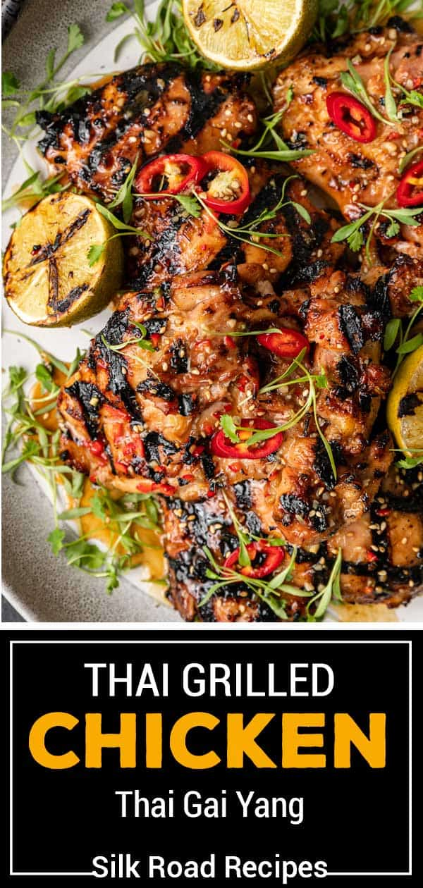 titled image (and shown): Thai Grilled Gai Yang Chicken
