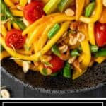 titled image shows closeup of Thai mango salad