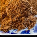 titled image of homemade ground spices