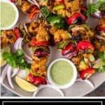 titled image of Indian tikka kabab