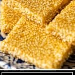 titled image of korean sesame crunch